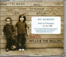 (71E) Wills & The Willing, Skin - DJ CD