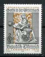 AUTRICHE - 1978 timbre 1404 Art Gothique, neuf**