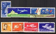 Romania - 1960 Aviation Mi. 1861-67 FU