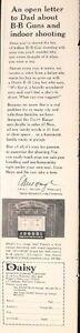 1964 Daisy BB Guns Rifles Range Target Box Canvas Backdrop Shooting Oddball AD
