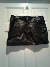 black short skirt size 11 goth/ costume /fetish