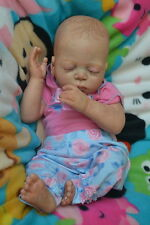 Ooak Reborn newborn real life  baby girl Camille   Baby  art doll