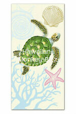 "NEW! ~ ""HONU VOYAGE"" HAWAII BEACH TOWEL!"
