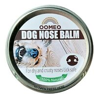 Dry Crusty Dog Nose Balm Snout Cream Butter Soothing Hemp Calendula OOMEO