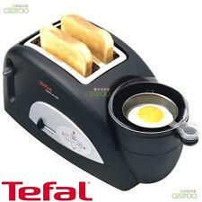 NEW Tefal Toast N' Egg Maker Cooker 2 Slice Kitchen Toaster - TT550015 Black