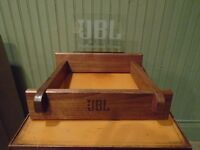 JBL Pioneer Solid Black Walnut Speaker Stands Various Manufacturers