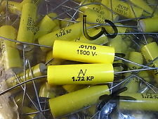 KP capacitors condensatori KP 72 10nf 1500v 10% Arcotronics assiale 4pcs