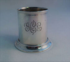 """Tiffany & Co Sterling Toothpick Holder-Mono GCL 2"""""""