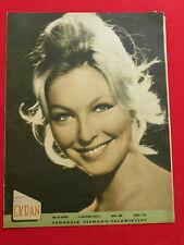 MARINA VLADY cover mag polonais EKRAN 1964 POLAND brigitte bardot FRANCE ANGLADE