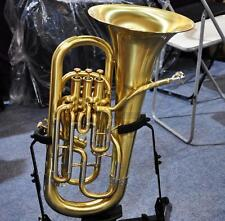 Professional Compensating System Euphonium Horn matt Brass Finish With Case