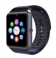 Black Fitness Band Activity Tracker Smart Watch Camera for Samsung iPhone HTC LG