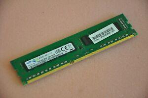 HP 4GB 2Rx8 PC3-12800E DDR3-1600 Unbuffered UDIMM Memory 662609-571 / A2Z48AA