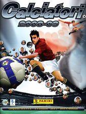 Mancoliste figurine Calciatori 2008-2009 Panini Champions WC stickers cromo 0,18