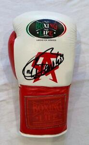 Saul Canelo Alverez signed replica fight night boxing glove