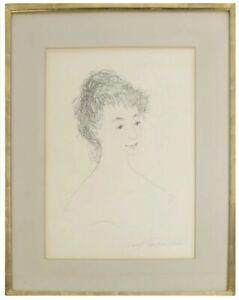 Darrel Austin (1907-1994) Original Drawing on Paper Listed Museum Artist WPA Art