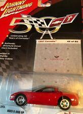 50th Anniversary - 1997 Corvette Johnny Lightning 1:64 Die-Cast #42 of 50