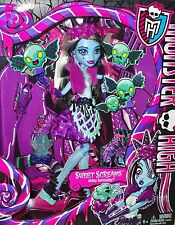 Monster High SWEET SCREAMS Abbey Bominable Holiday Candy EXCLUSIVE Doll Play Set