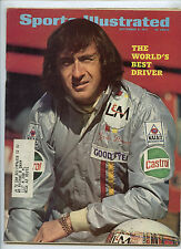 Sports Illustrated Jackie Stewart Best Driver 1971 Power Boat Racing