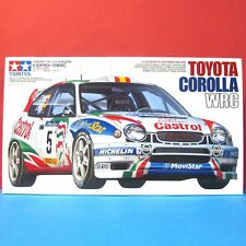 Tamiya 1/24 Toyota Corolla '98 WRC 5th Round Catalonian Version model kit #24209