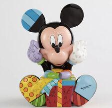 Romero Britto 2014 Disney Mickey Mouse Birthday Figurine 4043279 EUC In Box