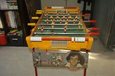 ANCIEN BABY FOOT MICHEL PLATINI   CHARTON ASSE ST ETIENNE MADE IN FRANCE