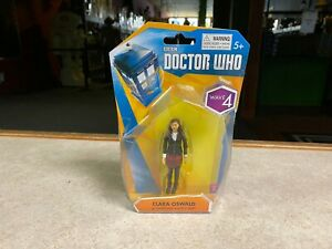 BBC Doctor Who CLARA OSWALD 3.75 in Cardigan and Red Shirt Figure NIP