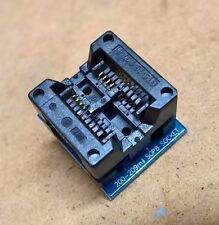 Socket adattatore test e programmazione da SO8 SOP8 200mil a DIP8 eeprom 25x w25