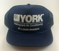 Vintage York Heating and Air Conditioning St Louis Snapback Mesh Trucker Hat Cap