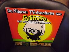 CALIMERO Italian Cartoon vinyl LP 1977 EMI Holland Import VG+