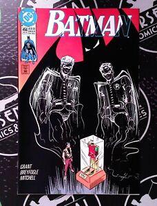 Batman #455, 456, 458 1990 DC Comics VF/NM 9.0 Dark Knight JLA Robin