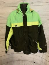 Far West Gore-Tex Mountain Wear Hooded Full Zip Multi-color Jacket