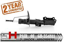 2 BRAND NEW FRONT GAS SHOCK ABSORBERS FOR VOLVO S60, V70, S80 /// GH 354811 ///