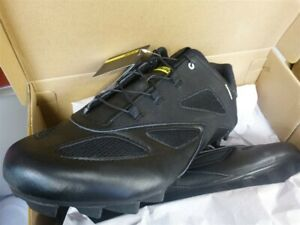 Shoes Mens MAVIC Crossmax Cleats US 11.5 EUR 46 UK 11 BLACK Cycling NEW