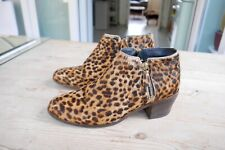 Boden Estampado De Leopardo Para mujeres Botas, tamaño 6 UK, 39 EU