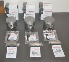 WISECO FORGED PISTON SET 876ML07050 876MR07050 70.50mm .5mm OVER BUFFALO GT750