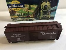 HO SCALE ATHEARN ITEM #841-2 40' BOX CAR CHICAGO & NORTHWESTERN ROAD#2121
