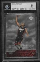 2003 Upper Deck Dwyane Wade Miami Heat RC #305 BGS 9 MINT Star Rookie Card