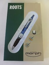 Cross Morph Electric Blue Ballpoint Pen  & Digital Writer New In Box Roots Logo