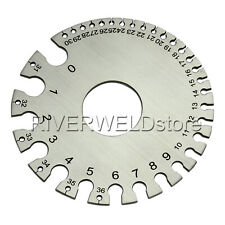 Round Cable Sheet Stainless Steel Wire Gage Standard Thickness Metal Gauge