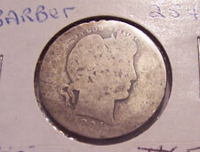 1894 0  BARBER SILVER QUARTER DOLLAR COIN