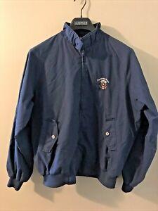 VTG Bridgeport Mens Windbreaker Jacket White House Presidential Seal Sz Lg 42-44