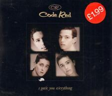Code Red(CD Single)I Gave You Everything-New