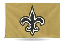 New Orleans Saints GOLD Rico 3x5 Flag Outdoor House Banner Football