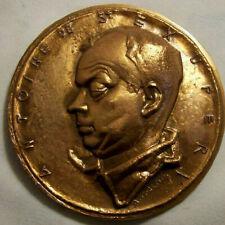 Médaille Saint EXUPERY signée GALTIE bronze Histoire de l' AVIATION
