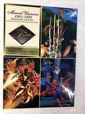 Marvel Universe 94' Flair Oversized Promo Card Sheet (1994)