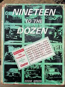 Ninteen to the Dozen - Eddie Green 1969 Motoring News Rally Champiomship - RARE