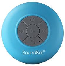 HD Water Resistant Bluetooth 3.0 Shower Speaker, Handsfree Portable Speakerphone