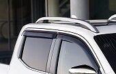 Nissan Navara NP300 D23M Double cap Window Wind/Rain Deflectors Set KE8004K010