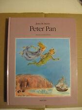 James M. Barrie : Peter Pan avec des illustrations de Mette Ivers