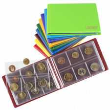 Classeur numismatique de poche pour 48 pièces jusqu'à 40 mm.